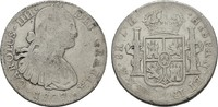 8 Reales 1807 Th - Mexico City. MEXIKO Carlos IV., 1788-1808. Sehr schön  55,00 EUR  +  7,00 EUR shipping