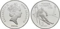 5 Dollars 1994. NEUSEELAND Elisabeth II. s...
