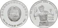 500 Won 1990. KOREA  Polierte Platte, geka...