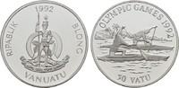 50 Vatu 1992. VANUATU Republik Polierte Pl...