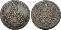 Dicker doppelter Reichstaler o.J. Hall RÖM...