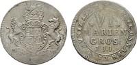 6 Mariengroschen (1/6 Taler) 1722, JJJ-O O...