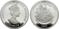 25 Dollars 1987. BAHAMAS Elizabeth II seit...