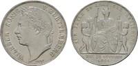 Gulden 1841. WÜRTTEMBERG Wilhelm I., 1816-1864. Fast Stempelglanz.  150,00 EUR  +  7,00 EUR shipping