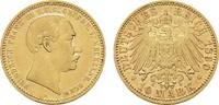 10 Mark 1890, A. Mecklenburg-Schwerin Friedrich Franz III., 1883-1897. ... 1290,00 EUR free shipping