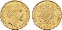 20 Mark 1873, D. Bayern Ludwig II., 1864-1...