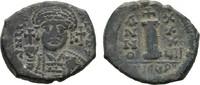 Æ-Dekanummion Antiochia. BYZANZ Iustinianus I., 527-565. Sehr schön +  140,00 EUR  +  7,00 EUR shipping