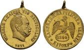 Bronzemedaille 1871. KAISERREICH Wilhelm I...