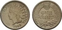 Ku.-Cent 1863. USA  Vorzüglich +.  50,00 EUR  +  7,00 EUR shipping