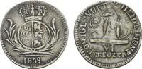 6 Kreuzer 1808. WÜRTTEMBERG Friedrich II. (I.), 1797-1806-1816. Sehr sc... 45,00 EUR  +  7,00 EUR shipping