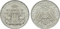 3 Mark 1914. Hamburg Freie und Hansestadt....