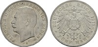 5 Mark 1913 G. Baden Friedrich II., 1907-1...