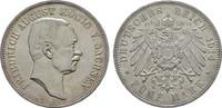 5 Mark 1914, E. Sachsen Friedrich August I...