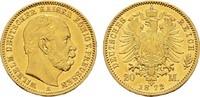 20 Mark 1872 A Preussen Wilhelm I., 1861-1...