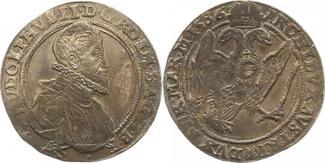 Taler 1586 Haus Habsburg Rudolf II. 1576-1612. Schöne Patina. Sehr schön - vorzüglich