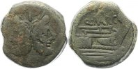 As  156 - 127 v. Chr. Republik Aes 156 - 127. Fast sehr schön  95,00 EUR  +  4,00 EUR shipping