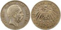 5 Mark 1895  E Sachsen Albert 1873-1902. Winz. Randfehler, sehr schön  65,00 EUR  +  4,00 EUR shipping