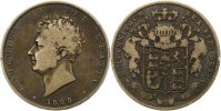 1/2 Crown 1829 Großbritannien George IV. 1820-1830. Schön  65,00 EUR  +  4,00 EUR shipping