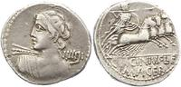 Denar 84 v. Chr Republik C.Licinius L.F. Macer 84. Sehr schön  155,00 EUR  +  4,00 EUR shipping