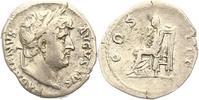 Kaiserzeit Denar Hadrian 117-138.