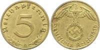 5 Pfennig 1936  A Drittes Reich  Sehr schön - vorzüglich  75,00 EUR  +  4,00 EUR shipping