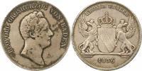 Kronentaler 1836 Baden-Durlach Leopold 1830-1852. Vorzüglich  265,00 EUR Gratis verzending