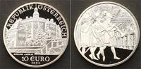 10 Euro 2002 Österreich Euro. Polierte Platte