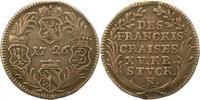 15 Kreuzer 1726 Fränkischer Kreis  Henkelspur, sehr schön  85,00 EUR  +  4,00 EUR shipping