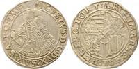 1/2 Taler 1566 T Sachsen-Albertinische Lin...