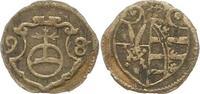 Pfennig 1598 Sachsen-Albertinische Linie C...