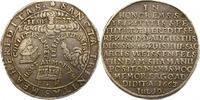 Taler 1663 Sachsen-Weissenfels August, Adm...