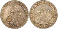 Taler 1784 A Brandenburg-Preußen Friedrich...