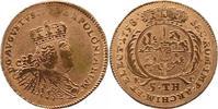 5 Taler, Neuer August d or 1758 EC, Berl 1...
