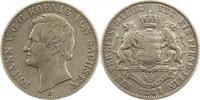 Taler 1861  B Sachsen-Albertinische Linie Johann 1854-1873. Sehr schön  75,00 EUR  Excl. 4,00 EUR Verzending