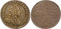 1/6 Taler Feinsilber 1718  B Braunschweig-...
