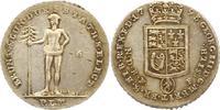 1/6 Taler Reichsfuß Feinsilber 1 1793 Brau...