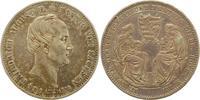 Ausbeutetaler 1854 Sachsen-Albertinische L...