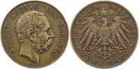 2 Mark 1900  E Sachsen Albert 1873-1902. S...