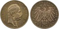 2 Mark 1904 Sachsen Georg 1902-1904. Randf...
