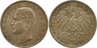 3 Mark 1908  D Bayern Otto 1886-1913. Schö...
