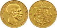 Zehn Taler Gold Gold 1850  B Braunschweig-...