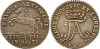 4 Mariengroschen Feinsilber 1735 Braunschw...