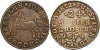 24 Mariengroschen Landmünze 1 1674 Braunsc...