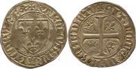 Groschen 1380-1422 Frankreich Karl VI. 138...