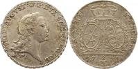 2/3 Taler 1772 Sachsen-Albertinische Linie Friedrich August III. 1763-1... 145,00 EUR  Excl. 4,00 EUR Verzending