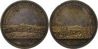 Silbermedaille 1822 Sachsen-Herrnhut, Geme...