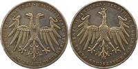 Doppelgulden 1848 Frankfurt-Stadt  Randfeh...