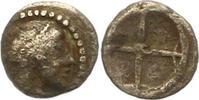 Obol um 480 v. C Sicilia unbek. Herrscher ...
