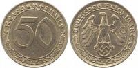 50 Reichspfennig 1938  A Drittes Reich  Se...