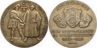Silbermedaille 1925 Schmalkalden  Mattiert...